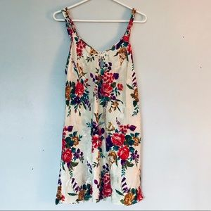 FLORAL NIGHT GOWN soft fancy cute flowers colorful